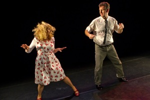 Steve Blount and Janet Moran in Fishamble's Swing, photo by Pat Redmond 10